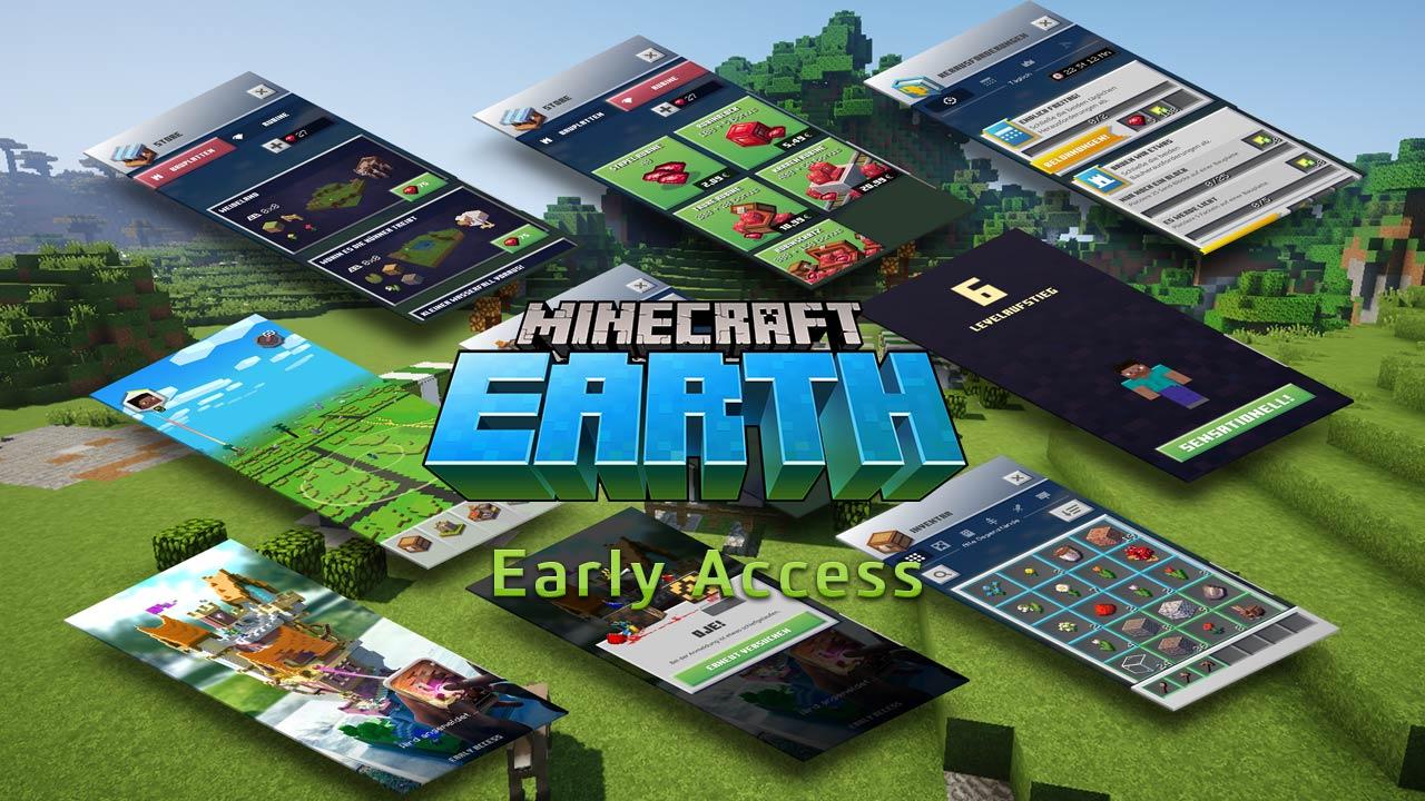 Minecraft Earth startet in Deutschland