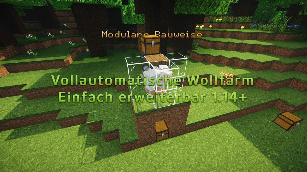 Vollautomatische Wollfarm 1.14+